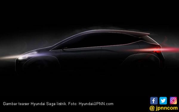 Jelang Debut, Hyundai Goda dengan Teaser Saga Listrik - JPNN.COM