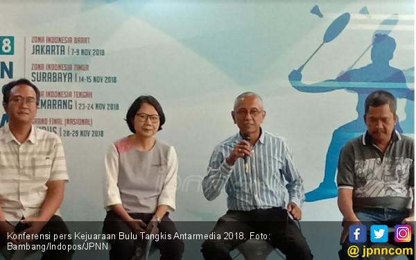 Bulu Tangkis Antarmedia 2018 Sediakan Hadiah Rp 177 Juta - JPNN.COM