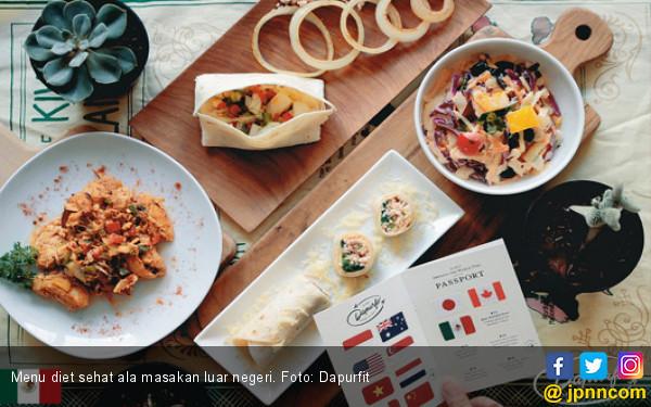 Coba Ini, 20 Hari Diet Makanan Sehat ala Internasional - JPNN.COM