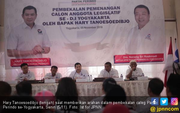 Bekali Caleg se-Yogya, Hary Tanoe: Perindo Harus Menang - JPNN.COM