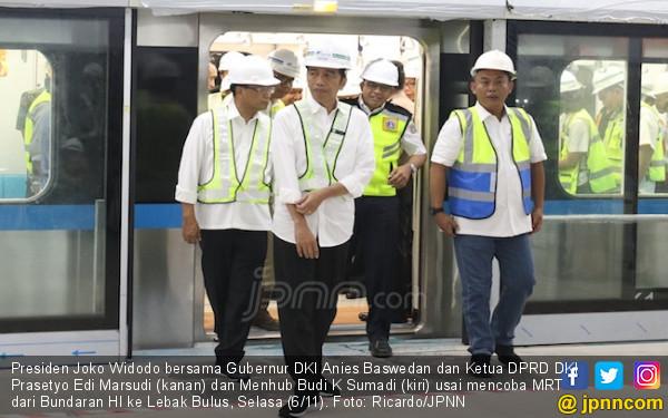MRT Jakarta Sudah Dicoba, Kira-kira Sebegini Tarifnya - JPNN.COM