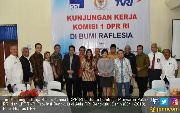 Komisi I Dorong RRI dan TVRI Jaga Netralitas - JPNN.COM