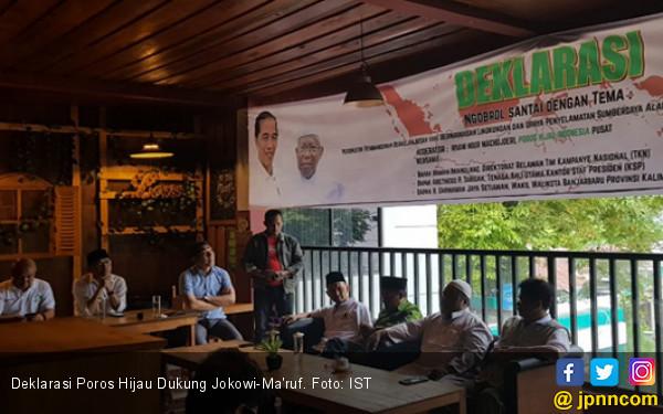 Poros Hijau Puji Keberhasilan Jokowi di Sektor Lingkungan - JPNN.COM