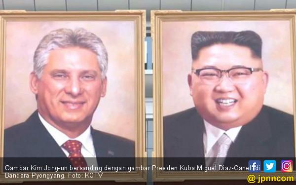 Setelah 7 Tahun, Kim Jong-un Akhirnya Punya Lukisan Resmi - JPNN.COM