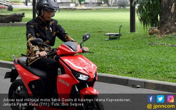 Motor Listrik Gesits Bisa Melejit Hingga 150 Km/Jam - JPNN.COM