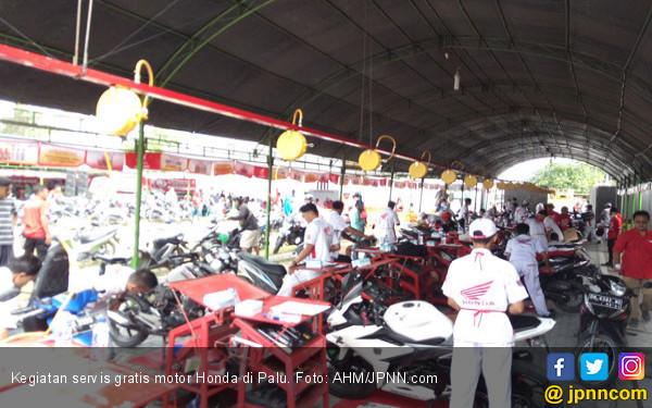 Mantap! AHM Gelar Servis Gratis Motor Honda - JPNN.COM