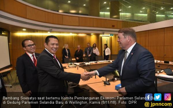 Bamsoet: Ekspor Indonesia ke Selandia Baru Terus Meningkat - JPNN.COM
