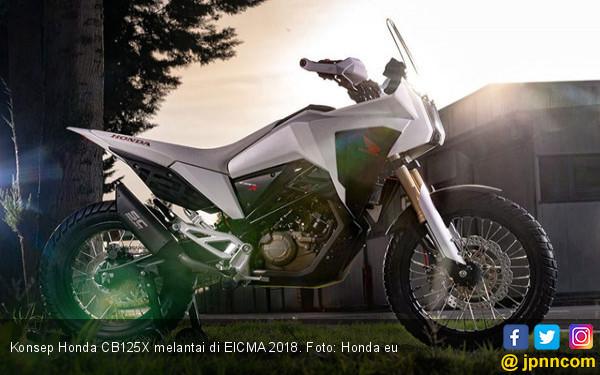 Konsep Honda CB125X, Belalang Tempur Versi Adventure - JPNN.COM