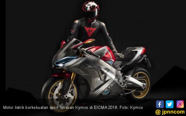 Buat Pakde Jokowi, Nih Motor Listrik Ada Grengnya - JPNN.COM