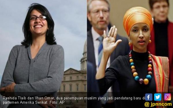 Dua Perempuan Muslim Catat Kemenangan di Pemilu Sela AS - JPNN.COM
