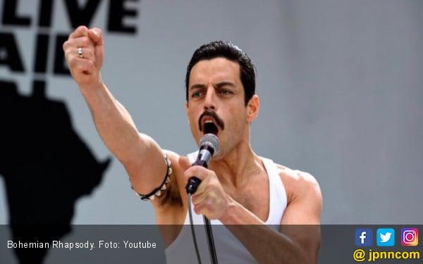 Rami Malek Persembahkan Golden Globe untuk Freddie Mercury - JPNN.COM