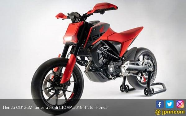 Honda CB125M, Super Motard untuk Pemula - JPNN.COM