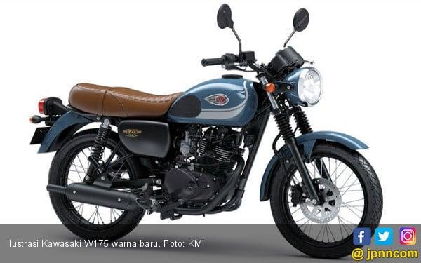 Kawasaki W175 Punya Warna Baru, Harga Berubah? - JPNN.COM