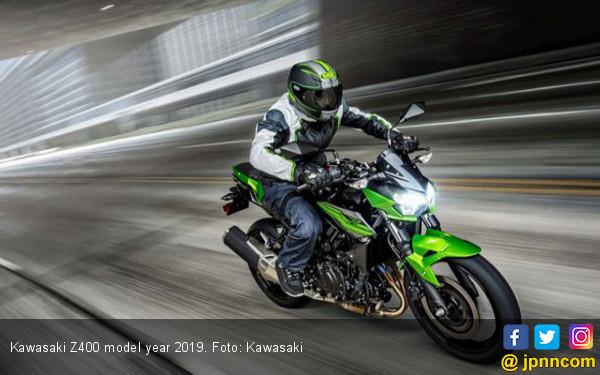 Bawa Teknologi Anyar, Kawasaki Z400 Dilepas Rp 70 Jutaan - JPNN.COM