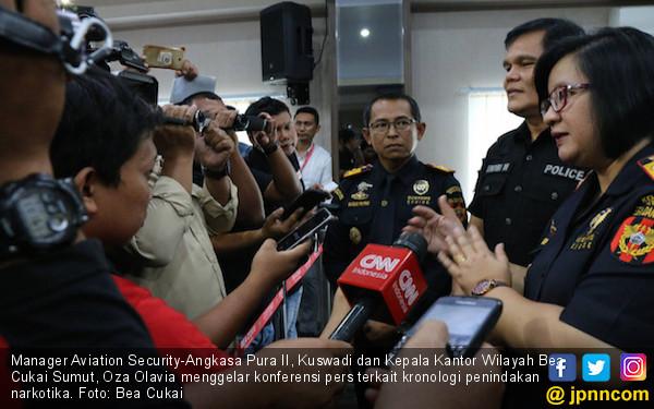 Bea Cukai Kualanamu Melancarkan Dua Penindakan Narkotika - JPNN.COM
