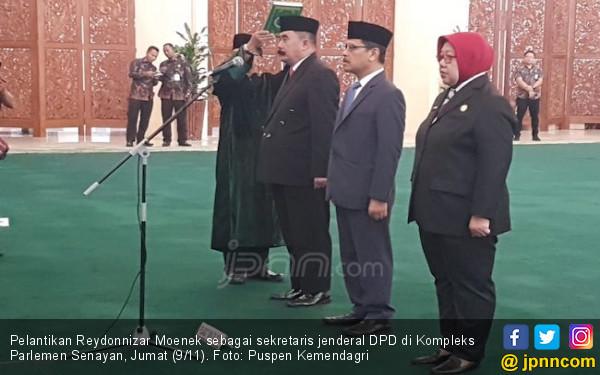 Presiden Jokowi Tunjuk Eks Jubir Kemendagri Jadi Sekjen DPD - JPNN.COM
