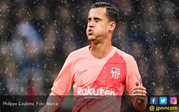 Philippe Coutinho Cedera, Barcelona dan Brasil Pusing - JPNN.COM