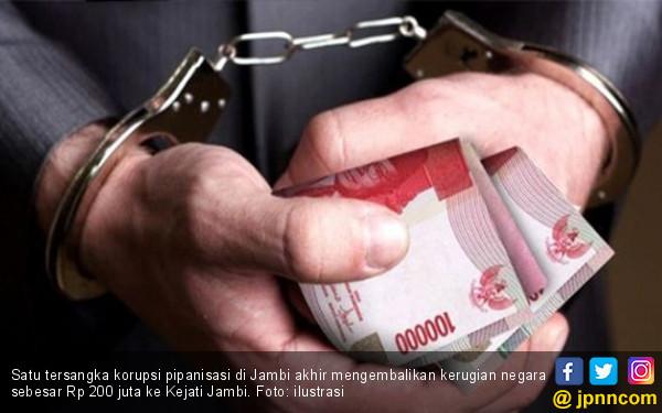 Satu Tersangka Kembalikan Kerugian Negara Rp 200 Juta - JPNN.COM