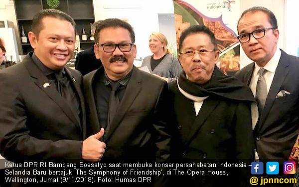 Ketua DPR Melantunkan Pantun di Wellingtong - JPNN.COM