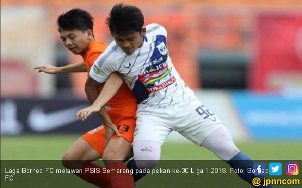 Tampil Garang di Kandang, Borneo FC Hancurkan PSIS Semarang - JPNN.COM