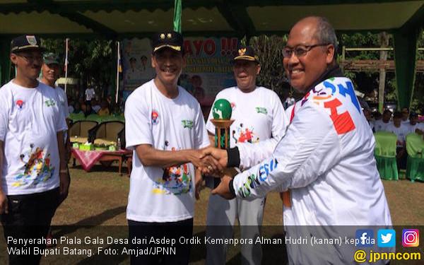 Gala Desa di Batang Ajak Masyarakat Lebih Giat Berolahraga - JPNN.COM