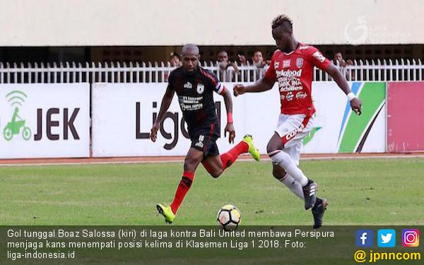 Gol Tunggal Boaz Bawa Persipura Jaga Kans ke Lima Besar - JPNN.COM