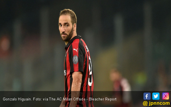 AC Milan Vs Juventus: Spesial Buat Higuain - JPNN.COM