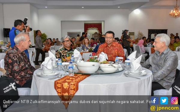 Dubes Negara-Negara Sahabat Puji Keindahan Alam NTB - JPNN.com