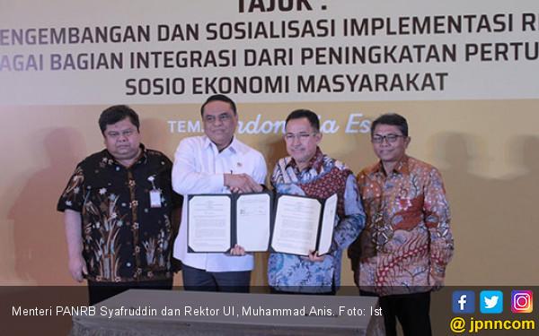 Akselerasi Reformasi Birokrasi Kementerian PANRB Gandeng UI - JPNN.COM