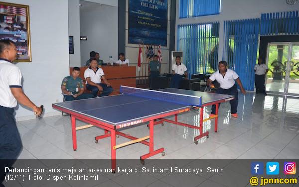 Satlinlamil Gelar Pertandingan Tenis Meja - JPNN.com