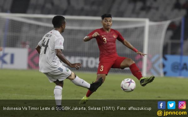 Indonesia vs Timor Leste, Andik: Mungkin Kurang Enak Dilihat - JPNN.COM
