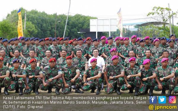 Kasal Beri Penghargaan ke Satgas SAR TNI AL - JPNN.com