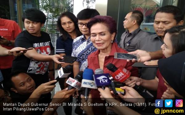 Dalami Kasus Century Lagi, KPK Minta Keterangan Miranda - JPNN.com