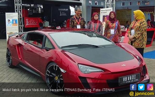 Sport Car Listrik Karya Adik Vidi Aldiano dan ITENAS Bandung - JPNN.com