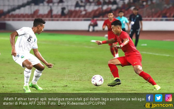 Telepon Ortu Sebelum Main, Alfath Cetak Gol untuk Indonesia - JPNN.COM