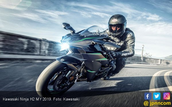 Kawasaki Suntik Mati Ninja H2R dan H2 Carbon - JPNN.com
