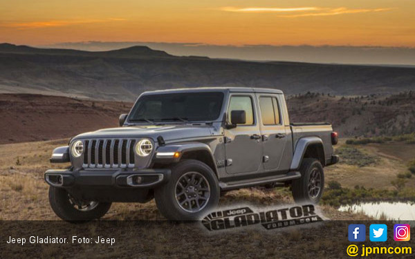 Bocor Sosok Jeep Gladiator, Wrangler Banget! - JPNN.com