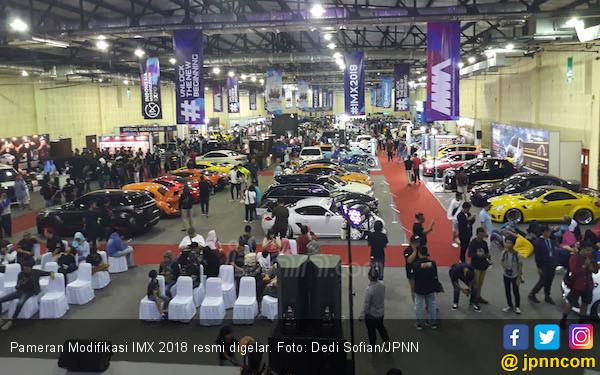 50 Mobil Modifikasi Pilihan Juri Internasional Bakal Getarkan IMX 2019 - JPNN.com