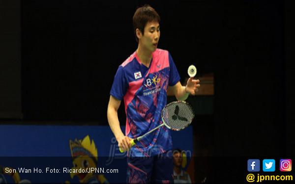 90 Menit yang Luar Biasa, Son Wan Ho Taklukkan Kento Momota - JPNN.COM