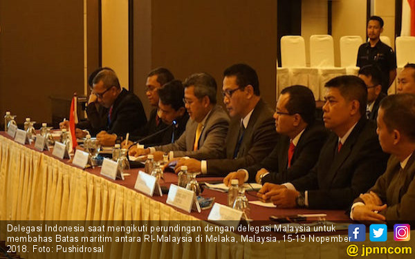 Delegasi RI - Malaysia Kembali Membahas Perbatasan Maritim - JPNN.com
