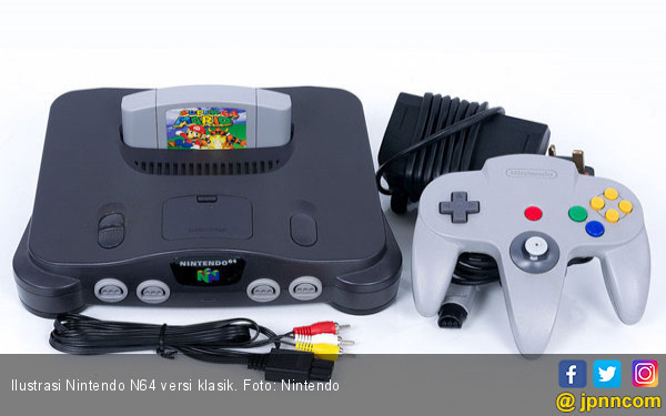 Nintendo Tidak Akan Merilis Konsol Gim N64 Versi Klasik - JPNN.COM