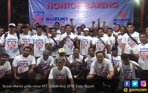 Nobar AFF Suzuki Cup, Suzuki Marine shares knowledge of ship engines - JPNN.COM