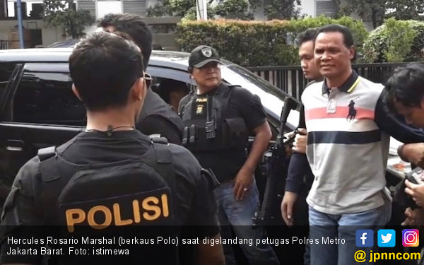 Polisi Jerat Pemberi Kuasa untuk Hercules Duduki Lahan - JPNN.com