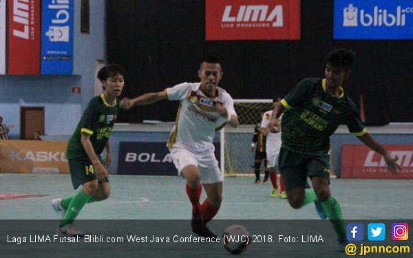 Unpad dan UPI Juara LIMA Futsal West Java Conference 2018 - JPNN.com