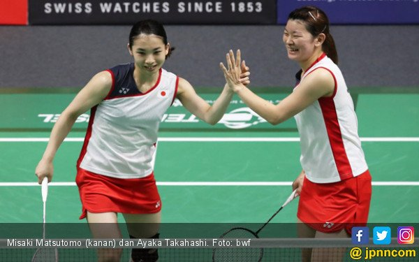 BWF World Tour Finals 2018: 3 Ganda Putri Jepang jadi Korban - JPNN.COM