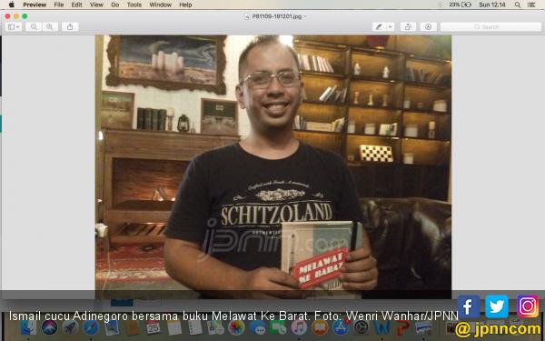 Melawat Ke Barat, Buku Petualangan Legendaris - JPNN.COM