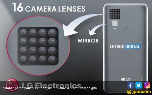 Gila! Setelah 5 Kamera, LG Kembangkan Ponsel 16 Kamera - JPNN.COM