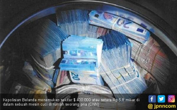 Lah, Pelaku Pencucian Uang Simpan Rp 5,7 M di Mesin Cuci - JPNN.COM