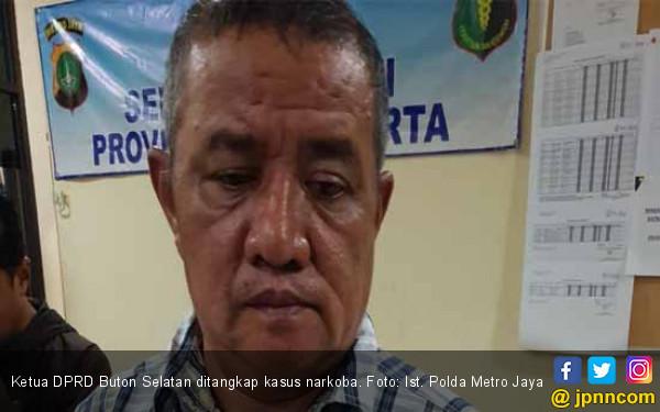Ketua DPRD Buton Selatan Diduga Asyik Nyabu di Hotel - JPNN.COM