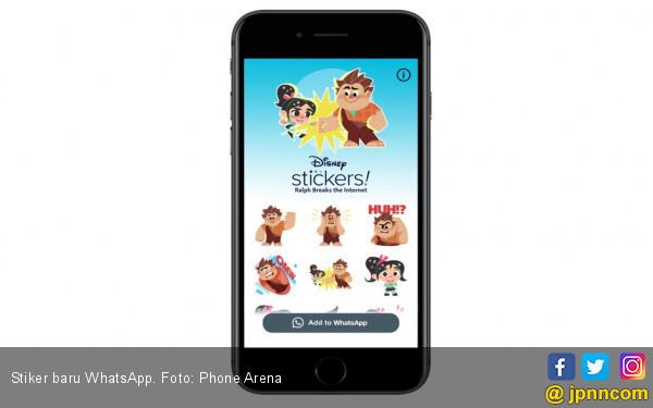 WhatsApp Gandeng Disney Hadirkan Stiker Baru - JPNN.COM
